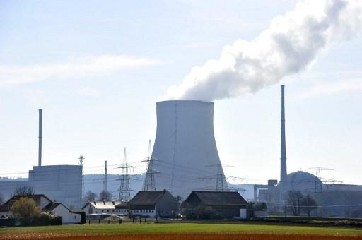A nuclear power plant run by energy supplier E.ON.  Photo: AFP / John MacDougall