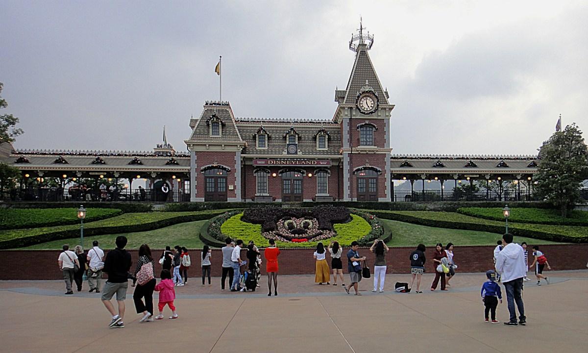 Hong Kong Disneyland Photo: Wikimedia Commons
