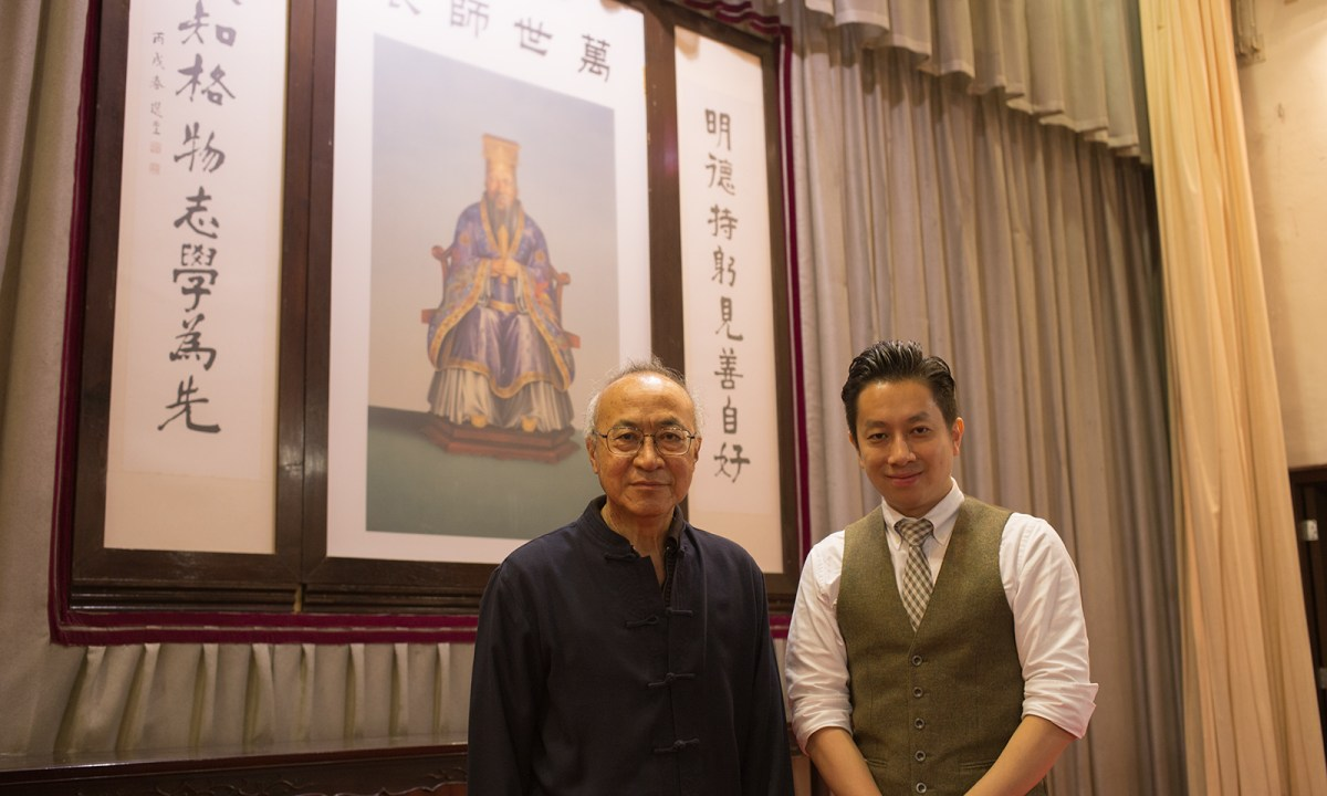 Edmund Kwok Siu-tong (left) and Alan Chan (right) Photo: Asia Times