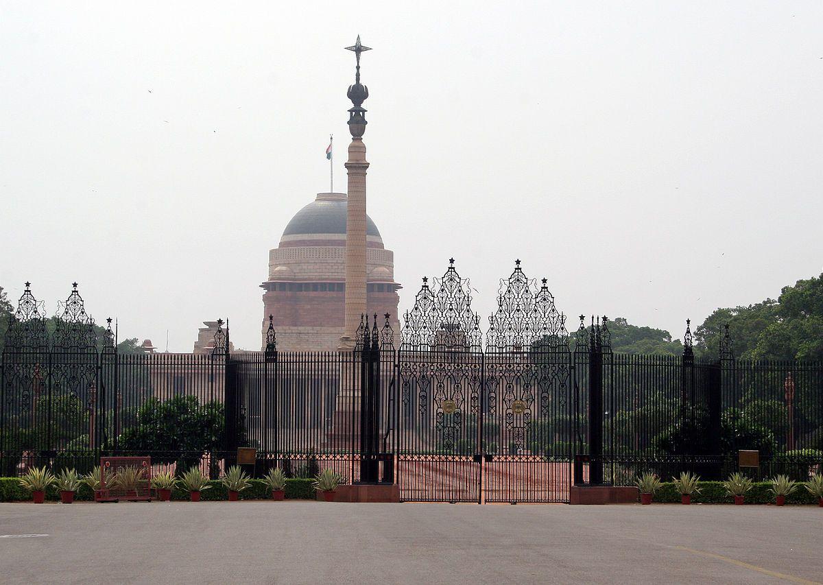 Rashtrapati Bhavan, the presidential palace in New Delhi. Photo: Wikimedia Commons