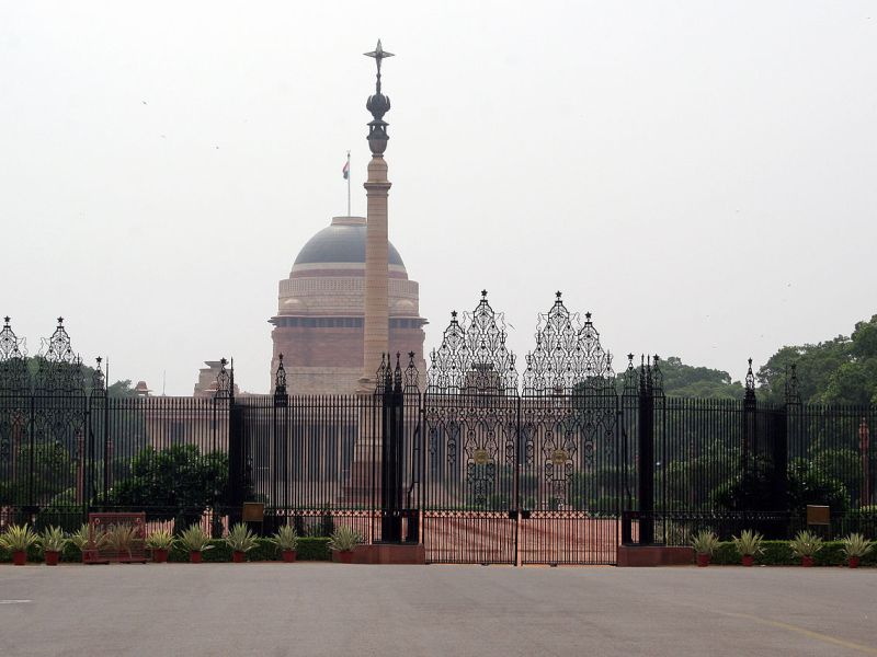 Rashtrapati Bhavan, the presidential palace in New Delhi. Photo: Wikimedia Commons