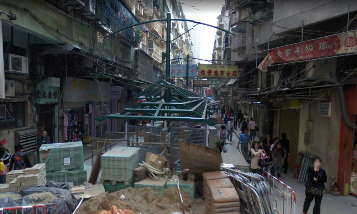 Rua de Tomé Pires, Macau. Photo: Google Maps