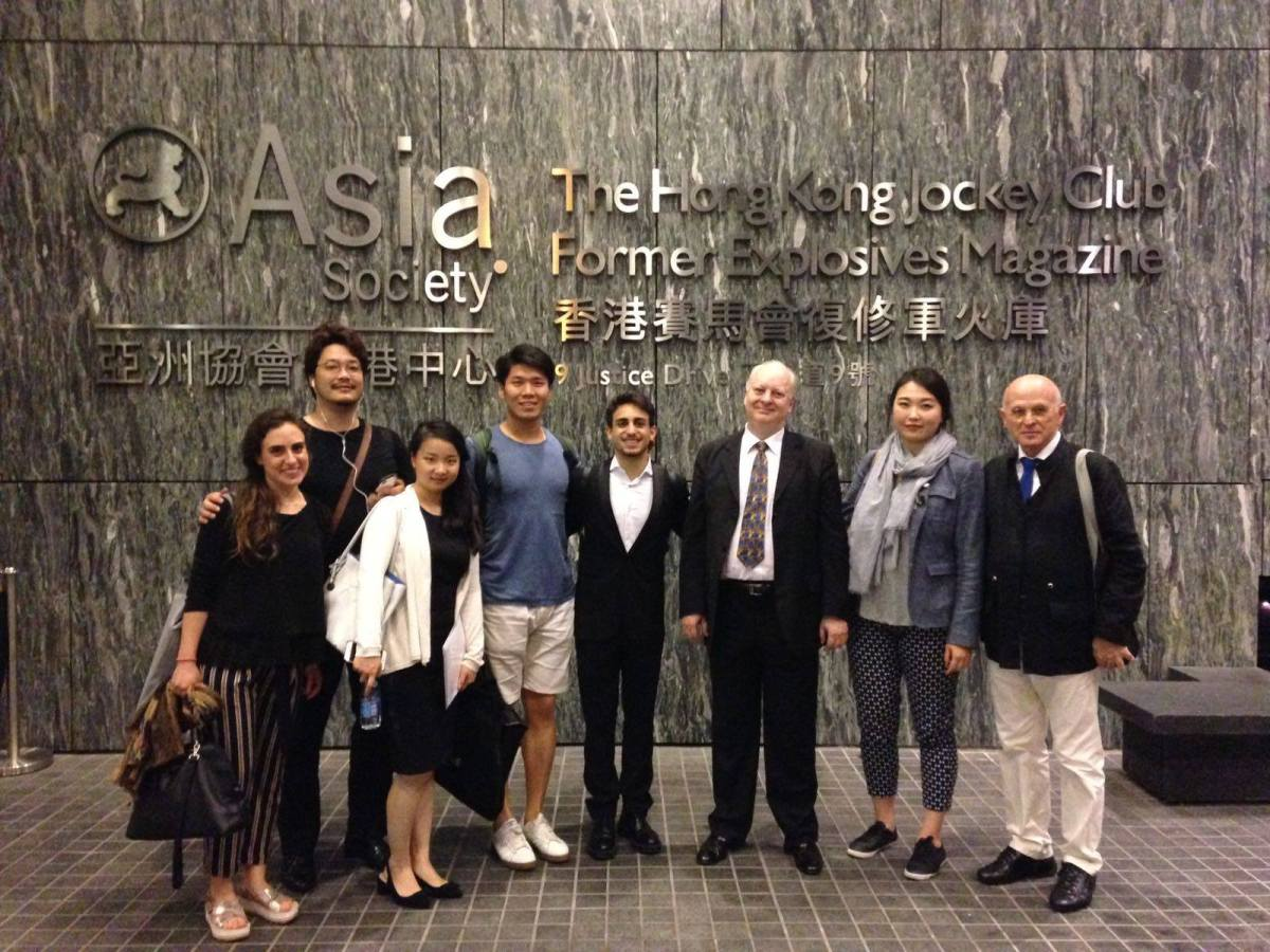 Students from the Academia del Maggio Musicale Fiorentino on their recent tour to Asia. Photo: Accademia del Maggio Musicale Fiorentino