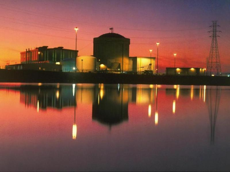 A night view of the VC Summer nuclear generation plant in the United States. Photo: Wikimedia Commons
