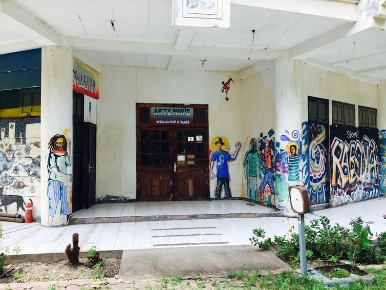 The entrance of Arte Moris, Dili, Timor Leste 2017. Photo: Y.H