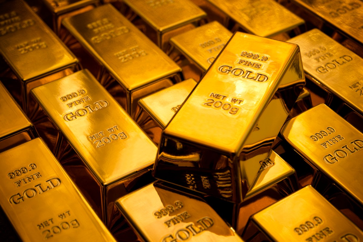 Gold bars. Photo: iStock