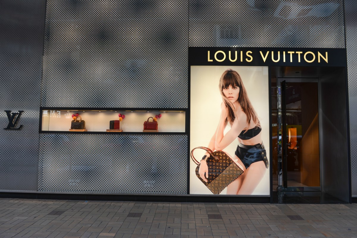 Louis Vuitton store. Photo: iStock