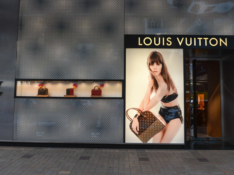 Louis Vuitton store. Photo: iStock