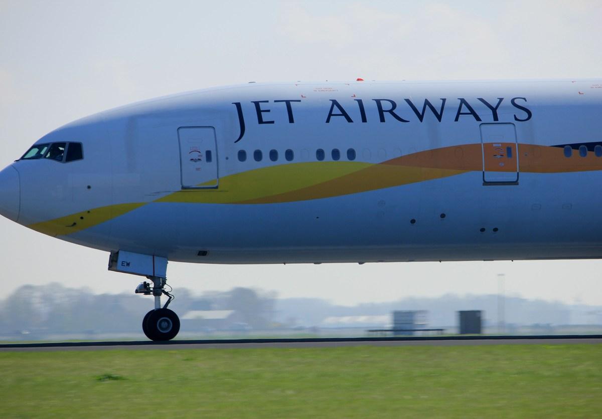 A Jet Airways plane readies for takeoff. Photo: iStock