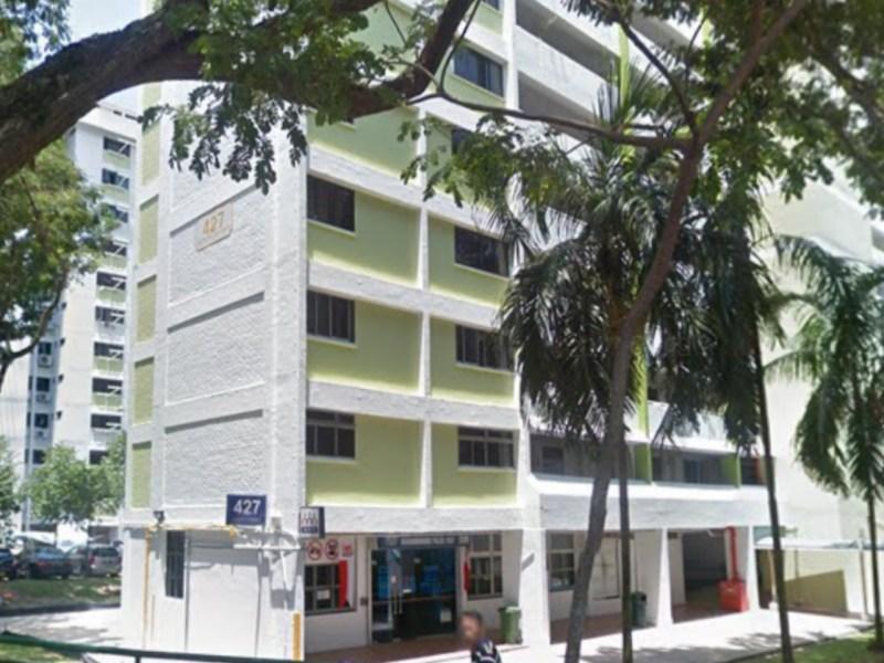 Block 427, Clementi Avenue 3, Singapore Photo: Google Map