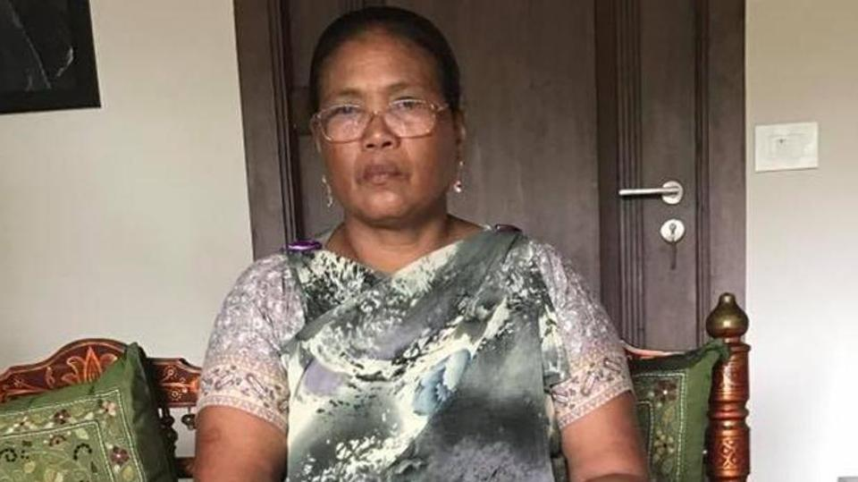 Tailin Lyngdoh was  asked to leave the Delhi Golf Club because she was wearing a traditional Khasi dress. Photo: Nivedita Barthakur/Facebook