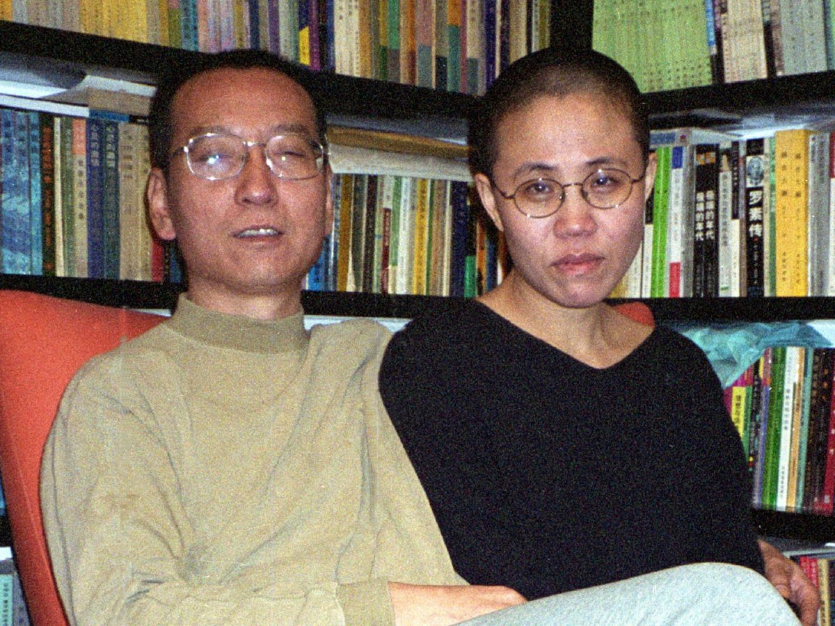 This file handout photo released by the Liu family and taken on October 22, 2002 shows Chinese dissident and Nobel Peace laureate Liu Xiaobo and his wife Liu Xia in Beijing. China's cancer-stricken Nobel laureate Xiaobo died on July 13, 2017, aged 61. Image: Agence France-Presse / Liu Family Handout