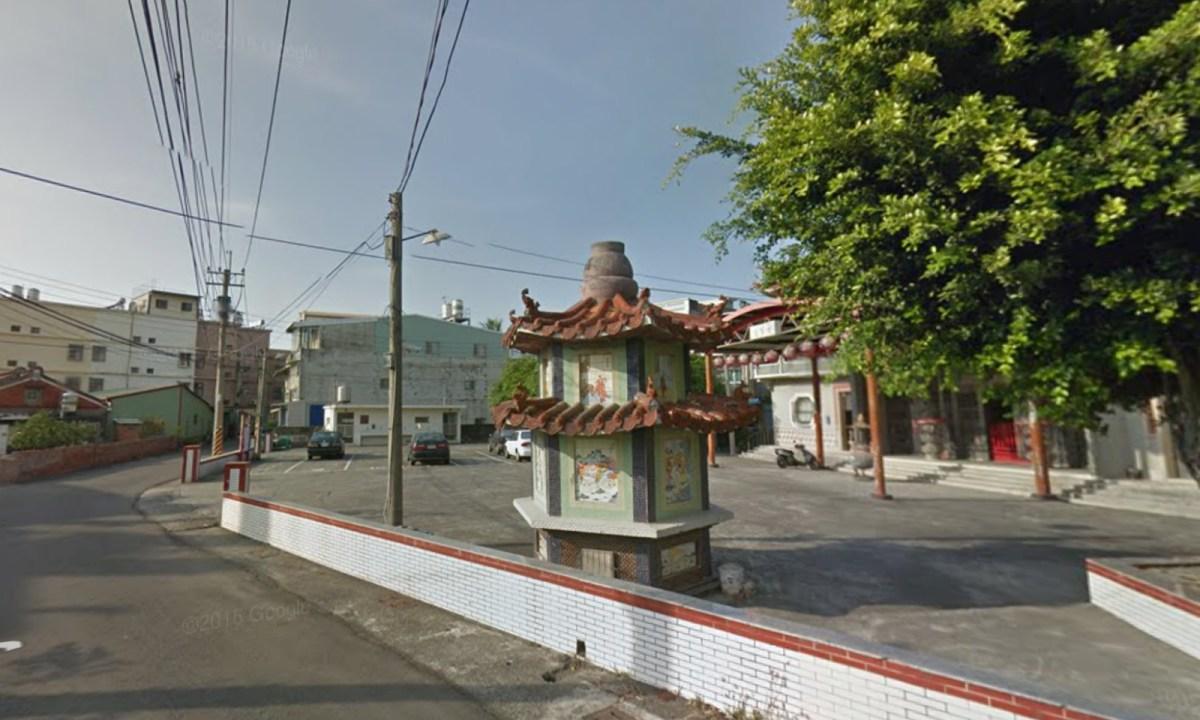 Minyou Road, Luzhu district of Kaohsiung, southwestern Taiwan Photo: Google Maps