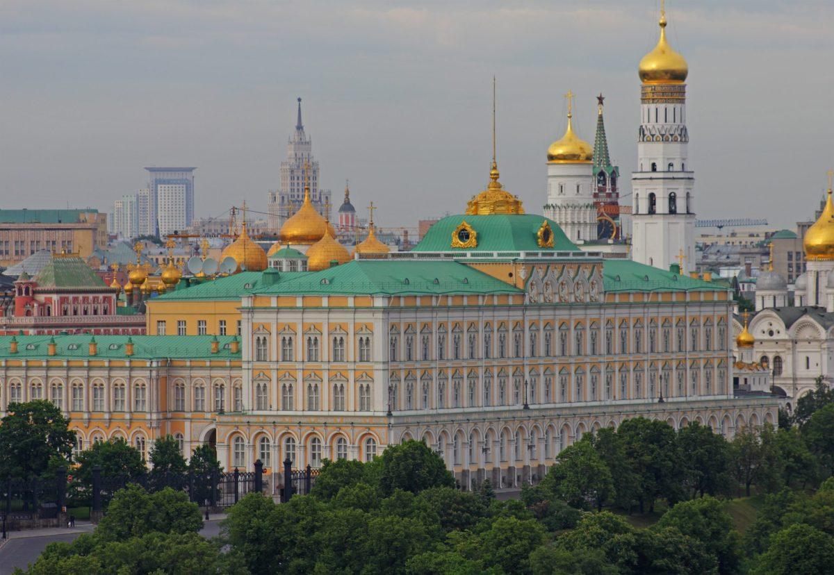 View of the Kremlin. Photo: Wikipedia