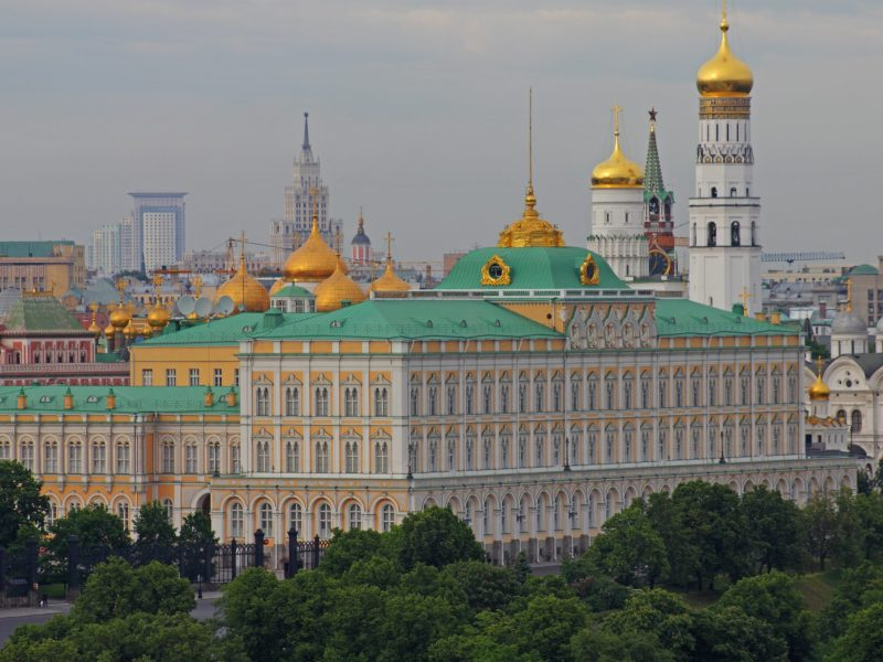 View of the Kremlin. Photo: Wikipedia