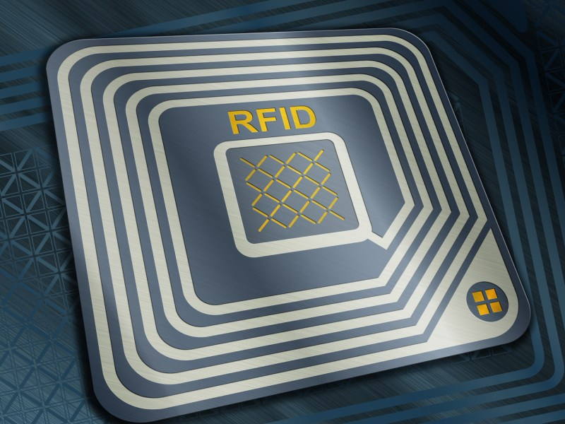 Radio frequency identification (RFID) chips have many uses, and can even be implanted in human beings. Photo: iStock