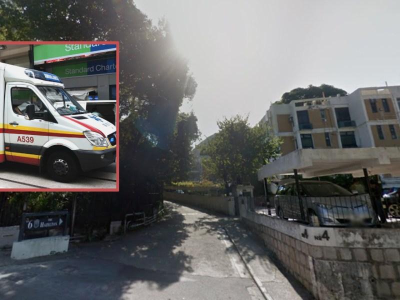 Shouson Hill Road, Deep Water Bay, Hong Kong Island. Photos: Google Maps, Wikimedia Commons