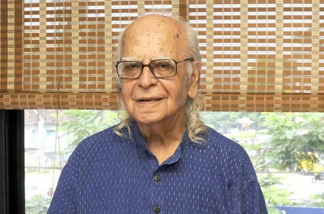 The renowned scientist Yash Pal died at his residence in Uttar Pradesh on Tuesday. Photo: The Hindu