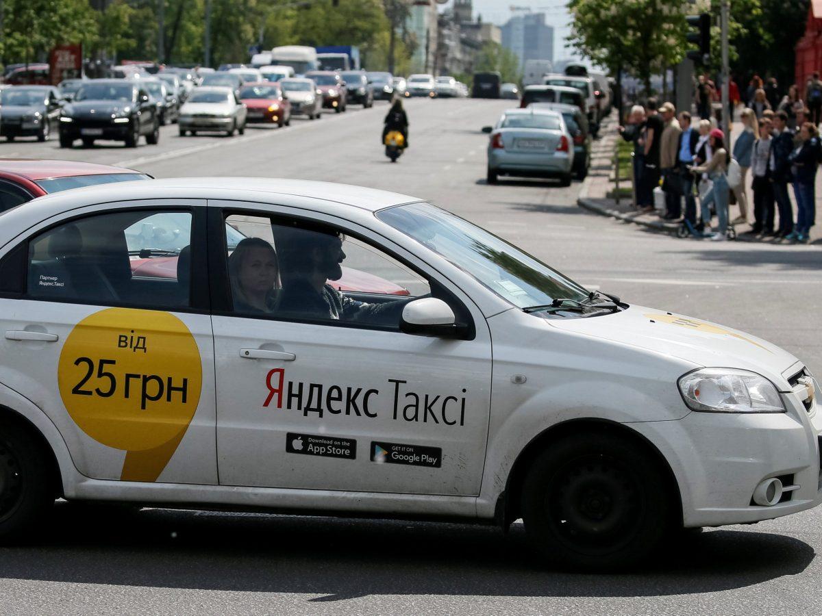 Yandex taxi. Reuters / Gleb Garanich