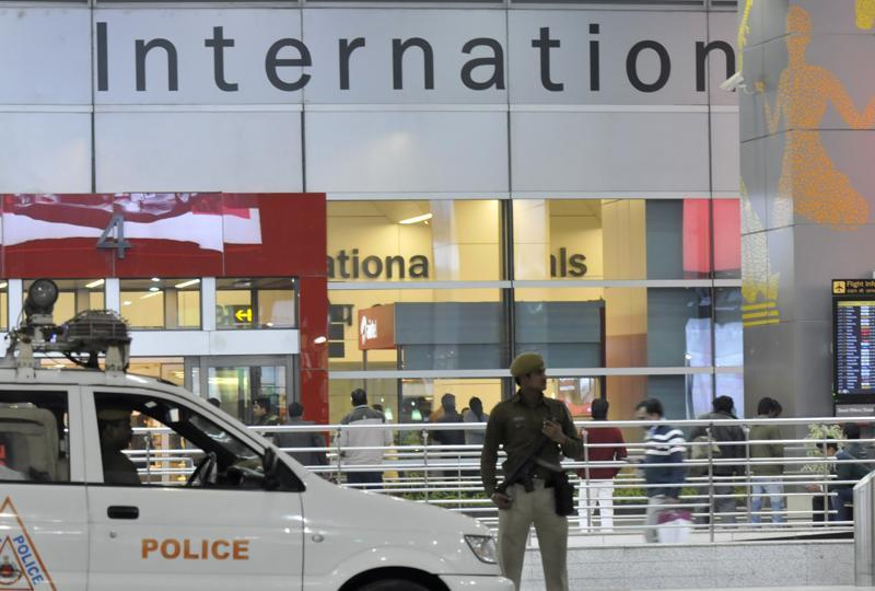 An ISIS suspect was arrested at Indira Gandhi International Airport in New Delhi on Wednesday. Photo: Hindustan Times