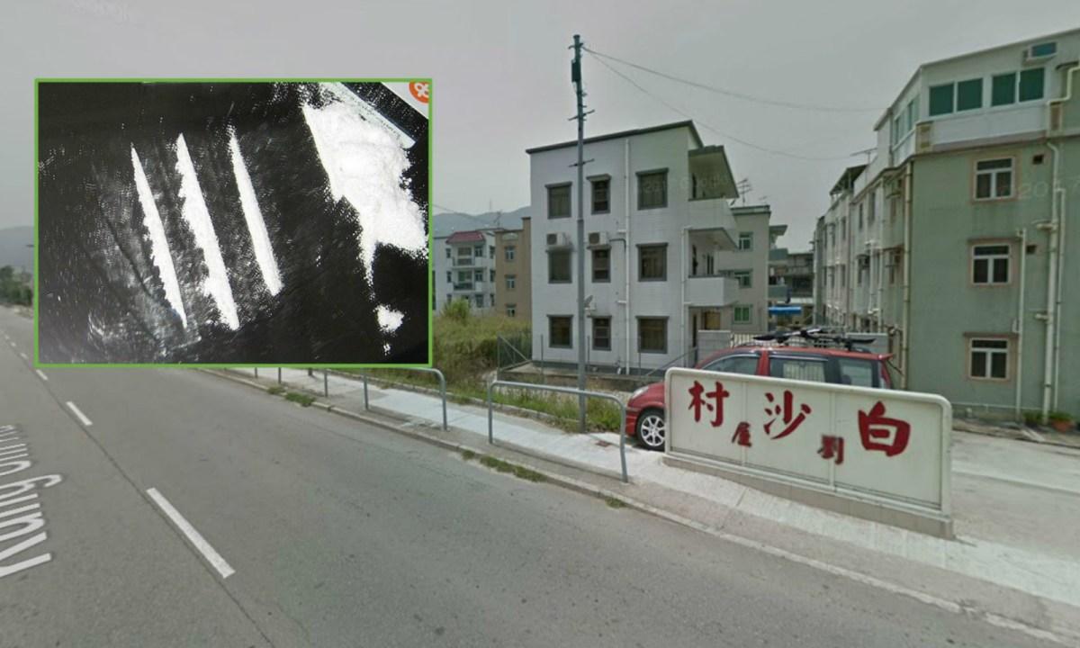 Pak Sha Tsuen, Yuen Long. Photos: Google Maps, Wikimedia Commons