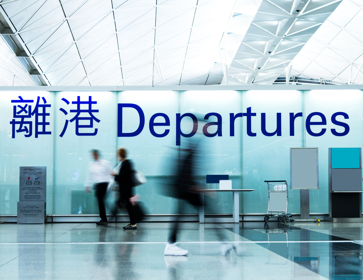 Airport departure area. Representational image. Photo: iStock