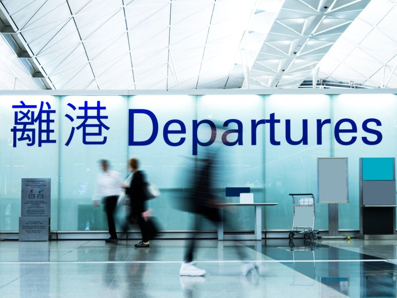 Airport departure area. Representational image. Photo: iStock