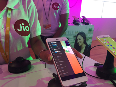 Reliance Jio mobile customers' personal data was leaked. Photo: Reuters