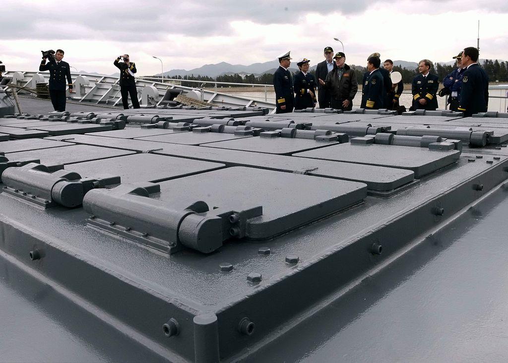 Hongqi-16 launchers. Photo: Wikimedia Commons