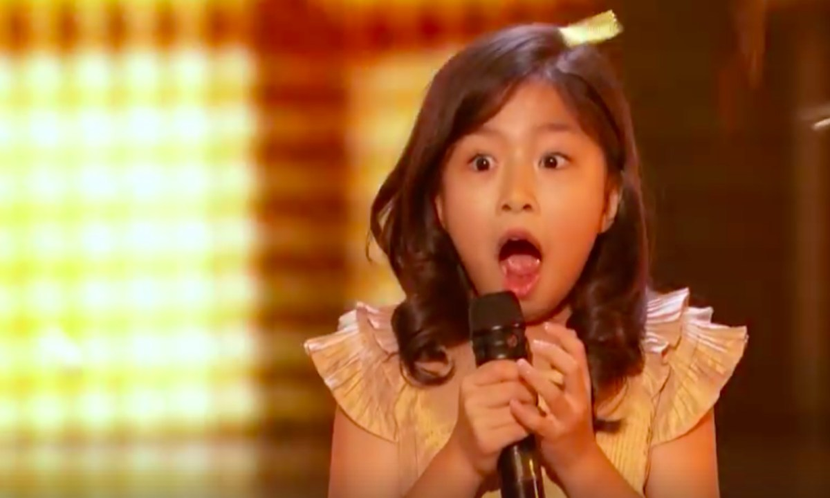 Celine Tam.  Photo: America's Got Talent