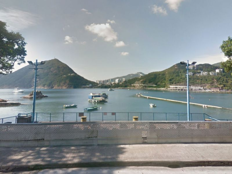 A barbecue site at Deep Water Bay on Hong Kong Island. Police are hunting for a group of local men after one attacked four Nepalese men with a knife. Photo: Google Maps