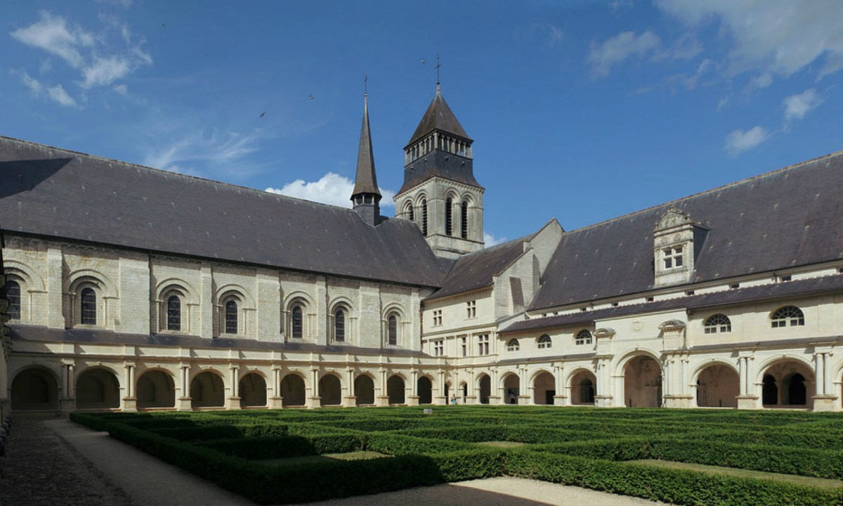 Fontevraud Cloître du Grand-Moûtier. Photo: Wikimedia Commons