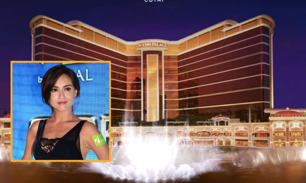 The boyfriend of Malaysian-Chinese model Mandy Lieu (inset), Alvin Chau, led a group a gamblers to Wynn Palace to win US$10 million. Photos: Wynn Palace, Instagram