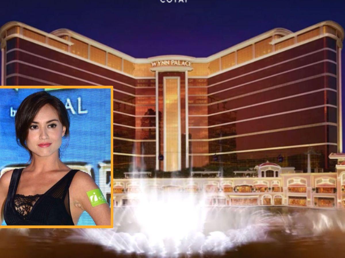 The boyfriend of Malaysian-Chinese model Mandy Lieu (inset), Alvin Chau, led a group a gamblers to Wynn Palace to win US$10 million. Photos: Wynn Palace, Instagram