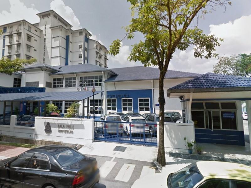 Brickfields Police Station, Kuala Lumpur. Photo: Google Maps