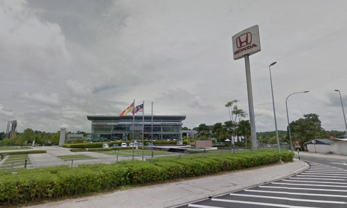 A Honda showroom in Sungai Buluh, Selangor, Malaysia. Photo: Google Maps