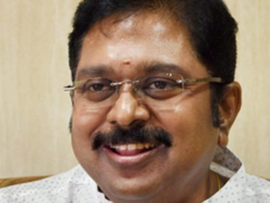 TTV Dhinakaran, an AIADMK leader, allegedly used Sukesh Chandrasekha as a bribery middleman. Photo: Firstpost