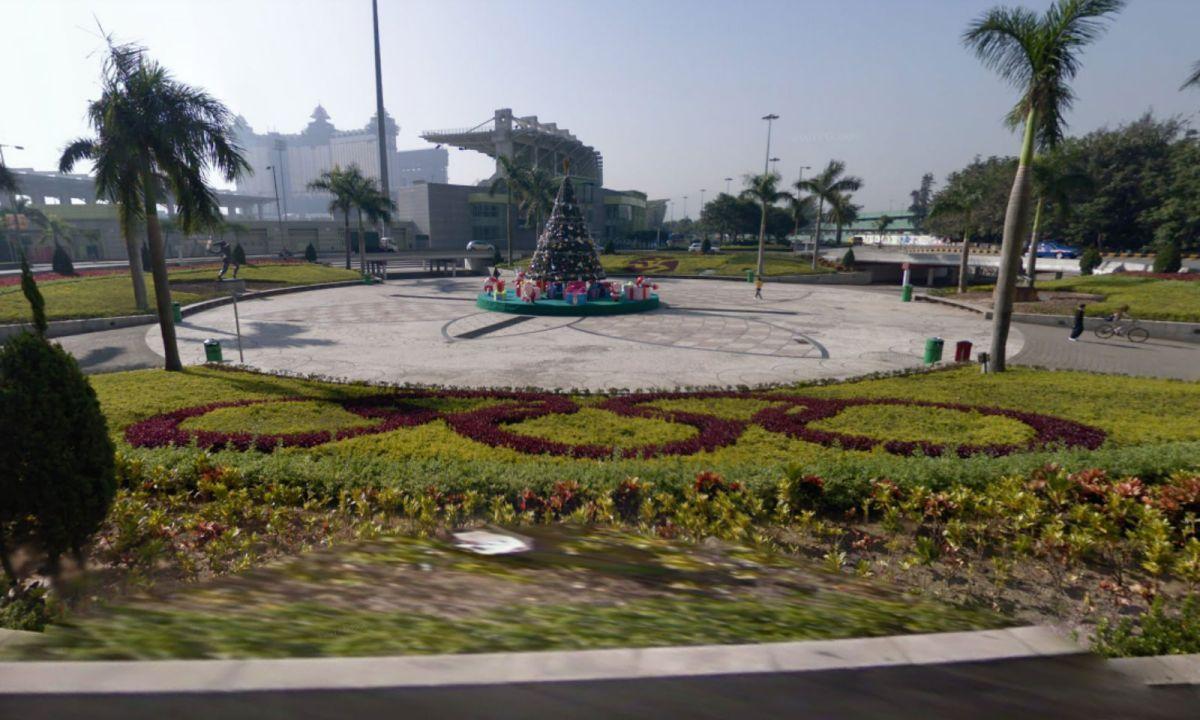 Rotunda do Estádio in Taipa, Macau. Photo: Google Maps
