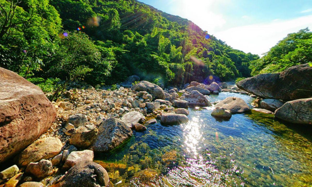 Wong Lung Stream, Lantau Island. Photo: Google Maps, N John