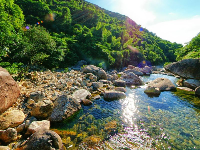 Wong Lung Stream, Lantau Island. Photo: Google Maps, N John