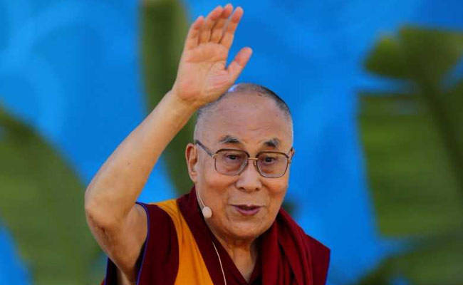 The Dalai Lama spoke at the Tata Institute of Social Sciences on Monday. Photo: Reuters