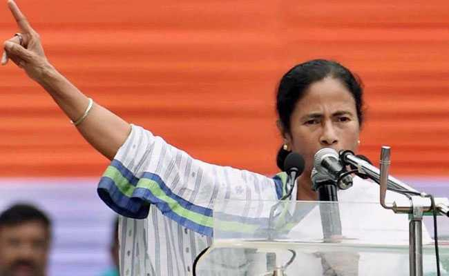 West Bengal Chief Minister Mamata Banerjee. Photo: NDTV