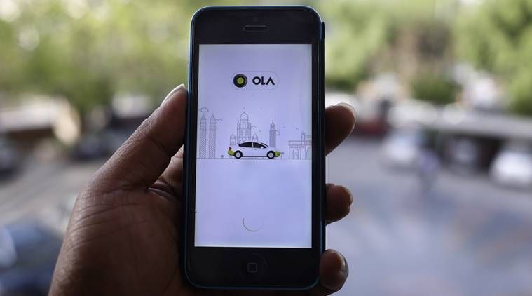 A Mumbai Ola driver has been accused of lewd behavior. Photo: The Indian Express