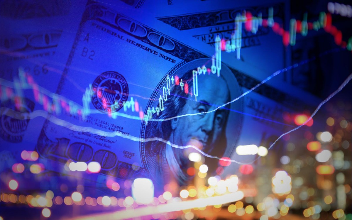 With the Dow Jones Industrial Average touching 22,000, investors are preparing for a bumpy second half of year. Illustration: iStock/Getty