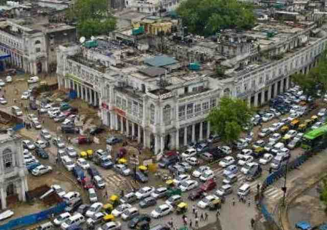 Connaught Place in New Delhi. Photo: Times Now