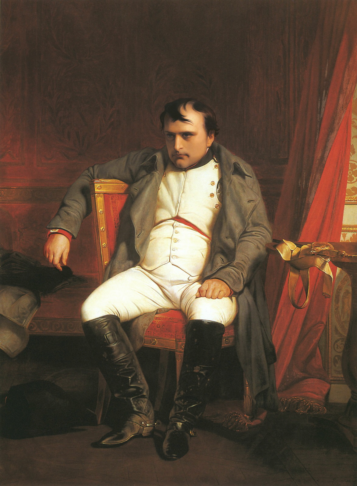 Paul Delaroche, Napoléon à Fontainebleau, 1840. With other global powers increasingly at odds with US foreign policy under Donald Trump, the nation's hegemony on the world stage may soon face its own crisis point. Photo: Wikimedia Commons