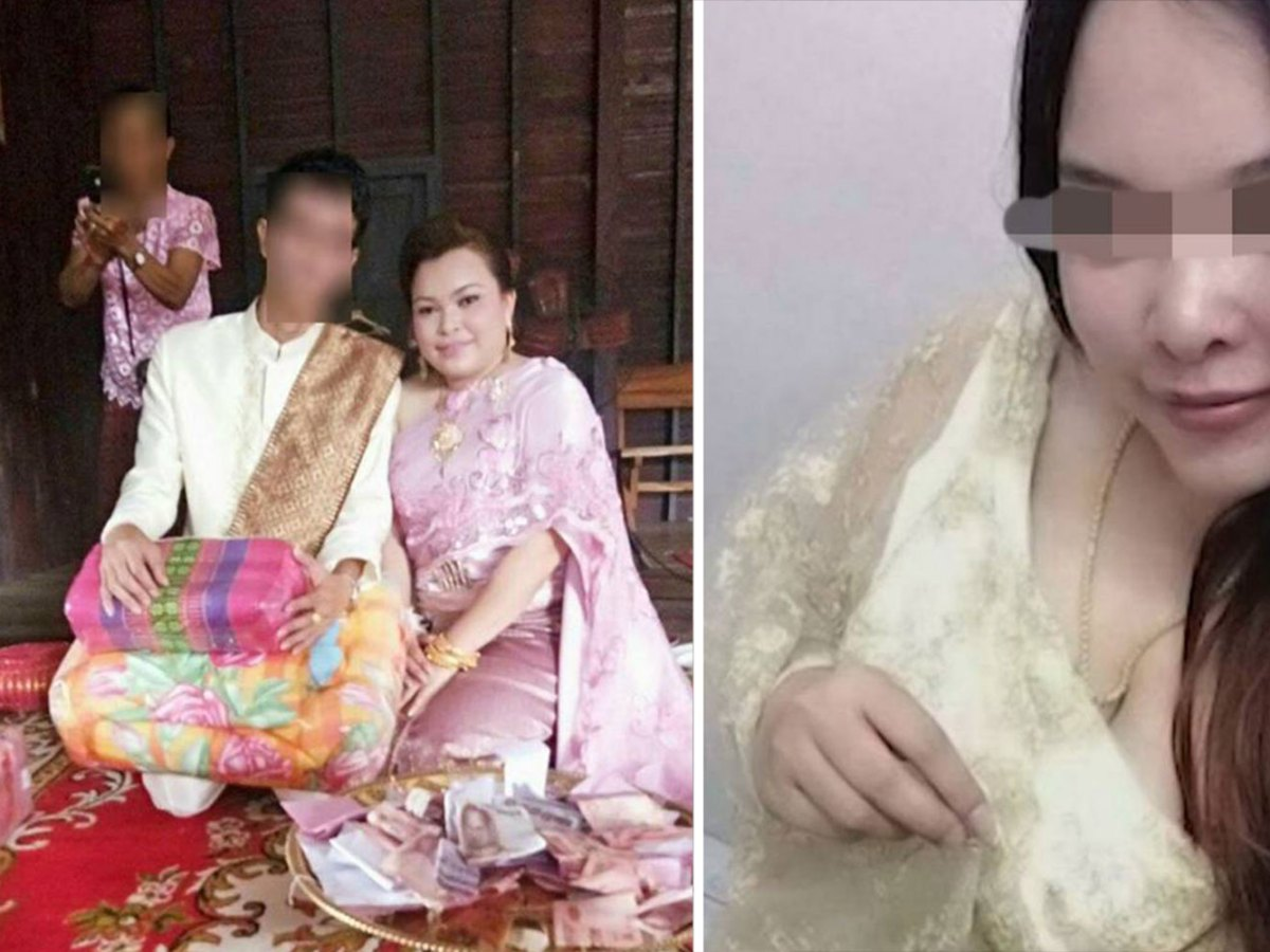 Jariyaporn Buayai, 32, has been accused of marrying at least a dozen different men in Thailand and making off with millions of baht in dowry payments. Photo: Ch7news/Facebook