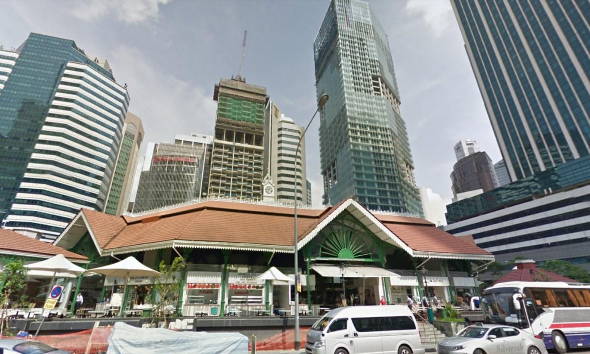Telok Ayer Market, Singapore. Photo: Google Maps
