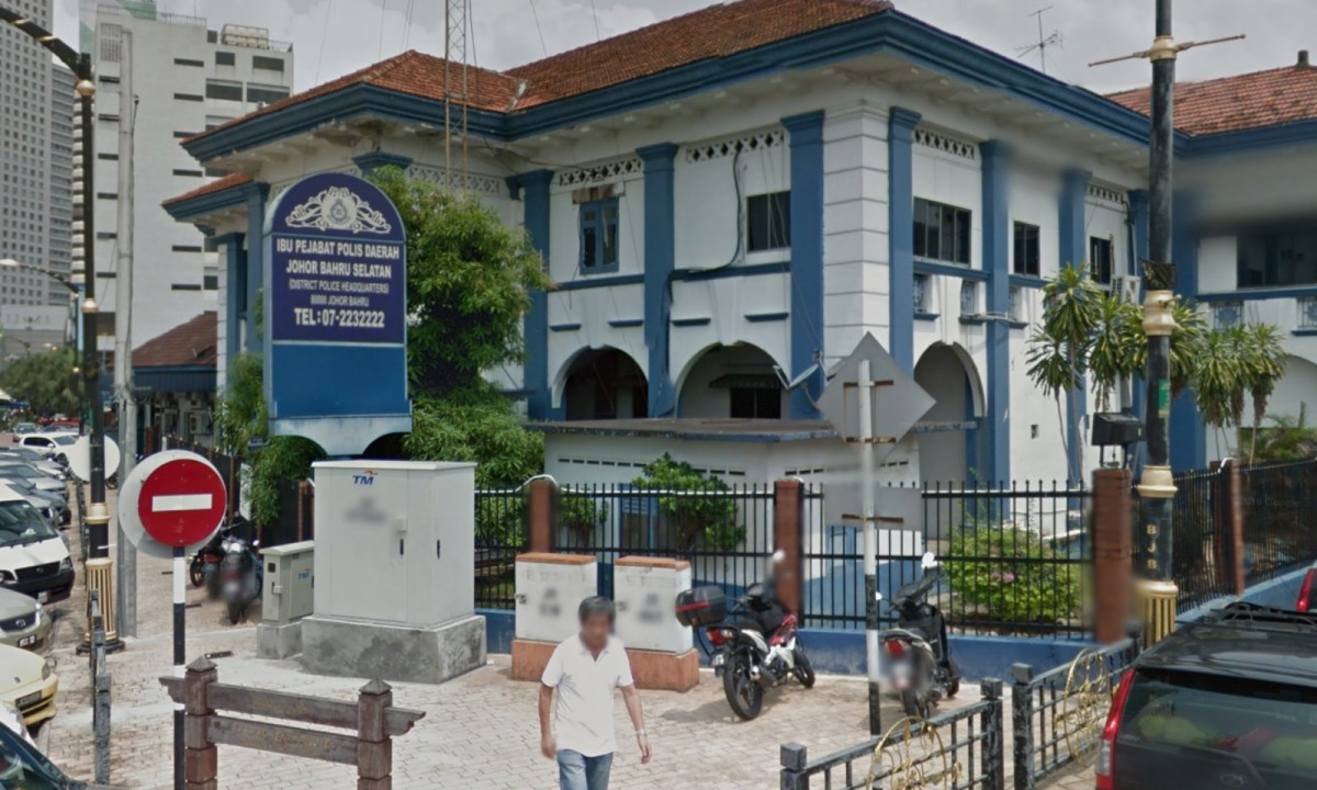 District Police Headquarters in South Johor Bahru, Malaysia. Photo: Google Maps