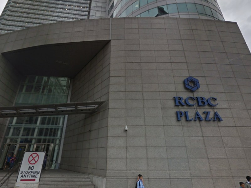 The Taipei Economic and Cultural Office, RCBC Plaza, Manila, Philippines. Photo: Google Maps